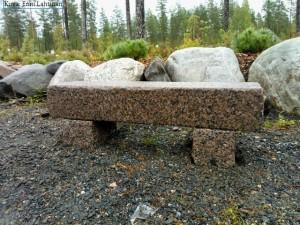 Penkkien istumakorkeus on 400 mm.