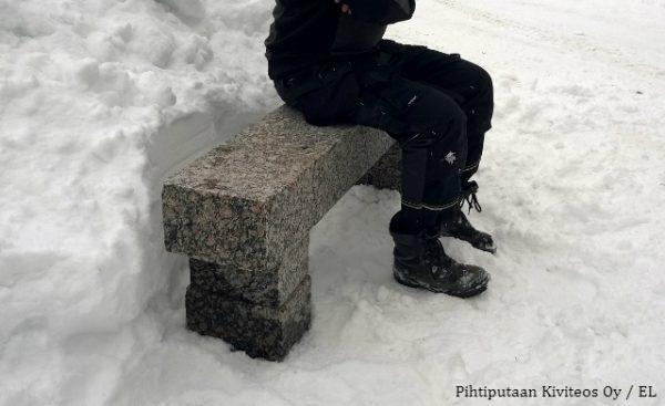 kivipenkki istumakorkeus 500