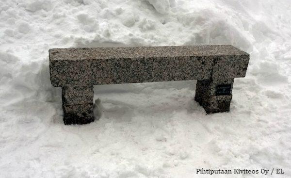 graniittipenkki istumakorkeus 500 mm