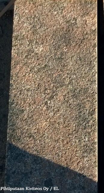 Graniittipollari – Anjalankosken Punainen, OUTLET-tuote