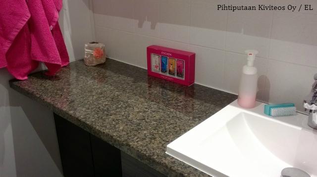 Kivitasot Sopivat Myös Kylpyhuoneeseen.