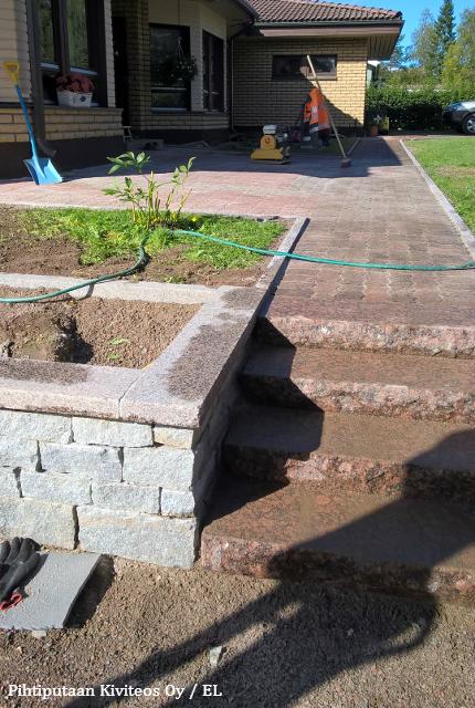 Betonikiveyksen korjaaminen valmiina