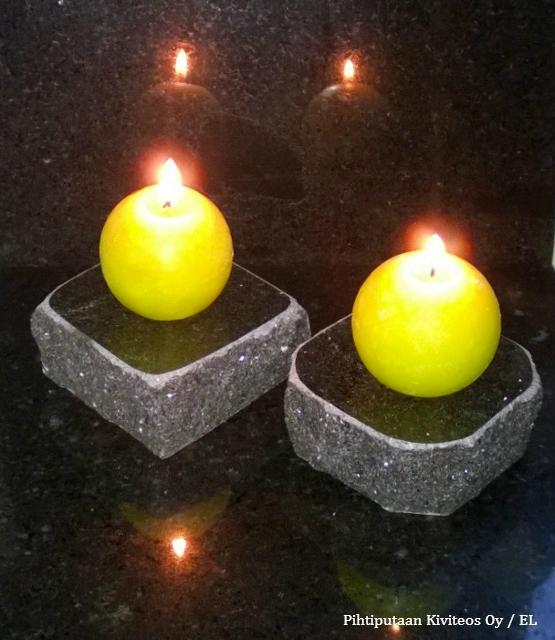 kynttilänalusta, lohkoreuna