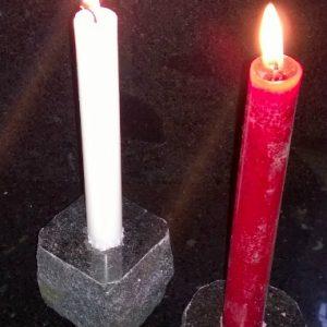 Kynttilänjalka, Graniittinen, Ilmainen Toimitus