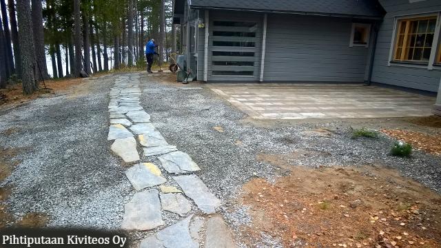 Graniittilaatoitus, Oleskelupiha – Pihan Kunnostaminen, Osa 2